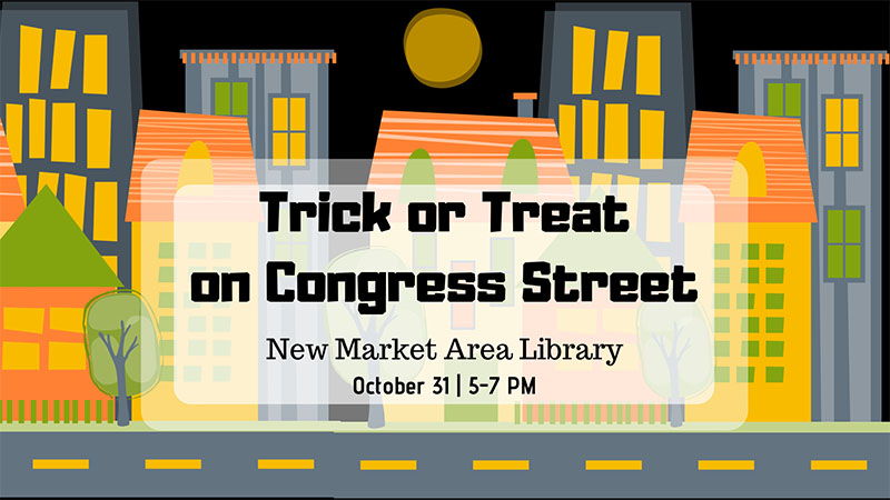 New Market Halloween Program 2018